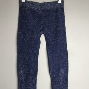 Pants - Sparkly Blue Jane Glitter Activewear Leggings